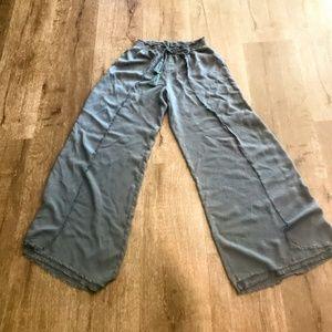 Palazoo Pants by Vanilla Star Sz Small Frayed Edge